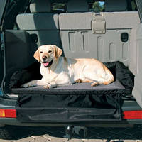Trixie TX-1321 матрас собачий для багажника 95х75 черно-серый Трикси.