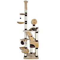 Когтеточка,дряпка Trixie TX-44681 Belorado 246-280см,домик для кота
