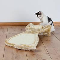 Trixie TX-43113  коврик Кот с валиком - Когтеточка