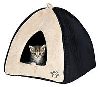 """Trixie  TX-36347 домик для кота """"Gina"""" 42х37х42см, беж/черн."""