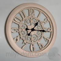 """Часы настенные """"Прованс5"""", бежевые 51 см."""