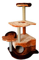 Когтеточка,дряпка Лори  Парадиз  дом-драпак для кота  106*57*57см (джут)