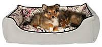 Trixie TX-37766 мягкое место Bett Carta  для собак 75*55см (сьемный чехол)
