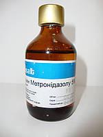 Метронидазол 5% р-р для ин. 100мл - противопротозойное, антибактериальное и бактерицидное действ. (Basalt)