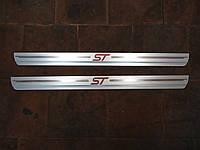 Декоративная накладка порога (ST) для Форд Фиеста СТ