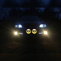 Светодиодная, LED лента для автомобиля, дневные ходовые огни 17см ДХО