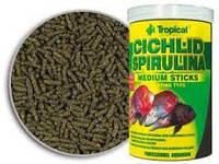 Tropical Cichlid Spirulina Medium Sticks корм для цихлид среднего размера 1л