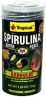 Tropical Super Spirulina Forte 1,2л- корм для подрастающих рыбок.