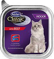 Butchers Cat Classic Pro  INDOOR 100г*12шт  консерва для котов (кастрированных/стерилизованных)