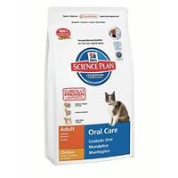Hills Science Plan Feline Oral Care 1,5кг - корм для кошек снижение образования зубного камня (7522)
