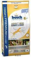 Bosch  Adult Mini Lamb & Rice 3кг для собак мелких пород с ягненком