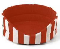 Лежак для собак  Comfy Marine  L 58x52x21 красный (238176)