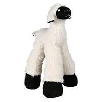Trixie TX-35763 овечка  плюш с погремушкой  игрушка  для собак 30см