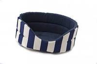 Лежак для собак  Comfy Marine XL 64x56x23 синий (238177)
