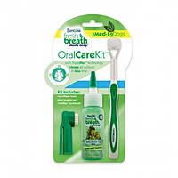 Tropiclean Oral Care Kit  Large - набор для ухода за ротовой полостью собак средних и крупных пород (1299)