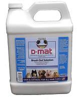 Tropiclean D-Mat Brush Out Solution Средство от колтунов для животных 3,8л (003231)