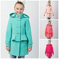 Детское пальто на девочку  Баска