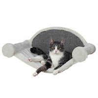 Trixie TX-49920 гамак для кота (плюш) с креплением к стене 54 × 28 × 33 см, фото 1