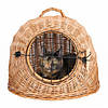 Trixie TX-2870 плетеная корзина пещера для кошек  Ø 45 см