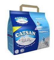 Наполнитель Catsan HYGIENE plus 5 л-Впитывающийся наполнитель для кошачьих туалетов