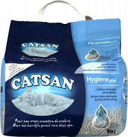 Наполнитель Catsan HYGIENE plus 10 л-Впитывающийся наполнитель для кошачьих туалетов