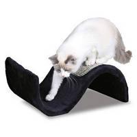 Trixie TX-43267  когтеточка волна для кота (плюш с сезалем) Трикси.