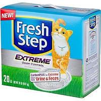 Комкующийся наполнитель для кошачьих туалетов Fresh Step Extreme 9,07кг (30622)