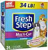 Комкующийся наполнитель для кошачьих туалетов FRESH STEP Clorox Multi-Cat 6,34кг (02049)