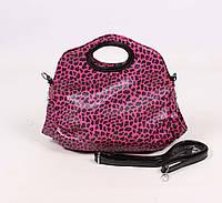 Яркая женская сумка Minaerdi, малиновая