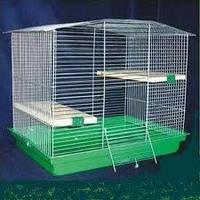 Клетки для шиншилл, грызунов -Лори Шиншилла,цинк (565*400*470см)