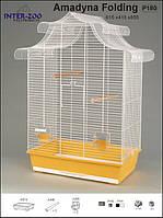 Inter-zoo P180 Клетка для попугая AMADYNA складная (615x415x855)