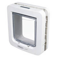 """Trixie TX-38550 дверца-автомат для котов и мелких собак """"SureFlap"""" 26.2х28.1см,белый"""