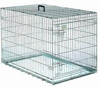 Papillon Клетка-переноска для собак металлическая с 1-ой дверью 60*53*60см