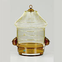 Fop LOLITA - Золотая клетка для мелких и средних попугаев и птиц (10470035 )