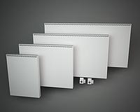 Тепловая панель электрическая ТВП 300 (сдвоенного типа действия, белая)