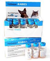 Нобивак рабиес (Nobivac rabies),1 доза инактивированная вакцина против бешенства животных.