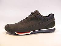 Туфли мужские ECCO кожаные, синие (еко)р.42,44