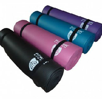 Коврик гимнастический Power System грубый для фитнеса, йоги, спорта, туризма
