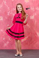 Подростковое платье Милена с украшением на груди