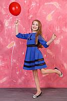 Платье для девочки модного кроя
