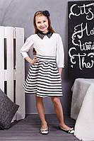 Платье для девочки с бусами