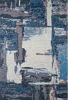 Ковер Smart абстракция синяя