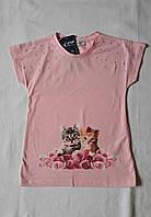 Модная футболка для девочек Пара