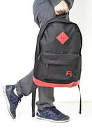 Стильный рюкзак Reebok, (черно-красный)