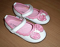 Туфельки для девочки с бантиком