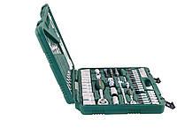 """Универсальный набор торцевых головок 1/4""""DR 4-14 мм и 1/2""""DR 14-32 мм и комбинированных ключей 8-22 JONNESWAY (S04H52482S)"""