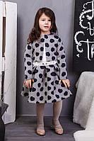 Платье для девочек в горохи