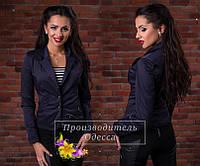 Женский пиджак с длинными рукавами размеры 42,44,46,48 50,52 54,56