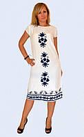 Платье женское прямого кроя
