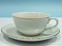 Фарфоровая чайная чашка Cmielow Rococo 0,24 л (3604)